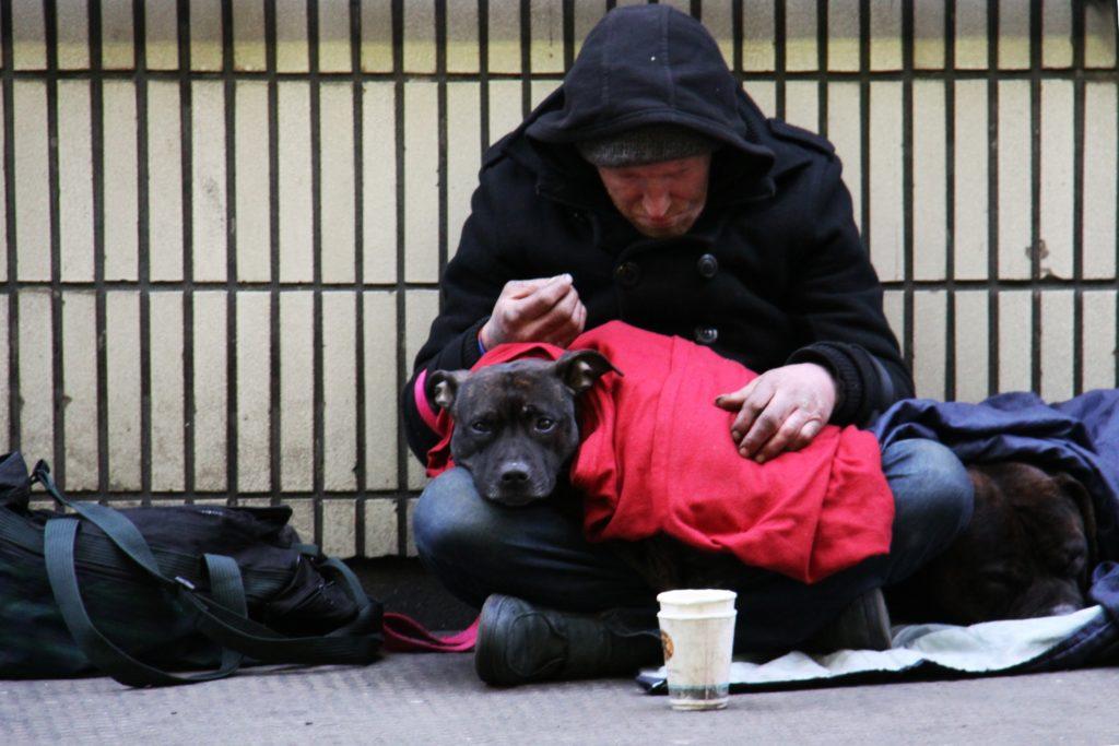 Weihnachtsfeier mit Obdach