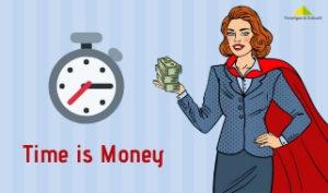 Time is Money - Zeit ist Geld