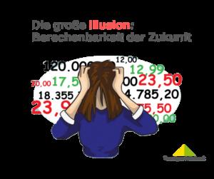 Die große Illusion: Berechenbarkeit der Zukunft und Börsenprognosen