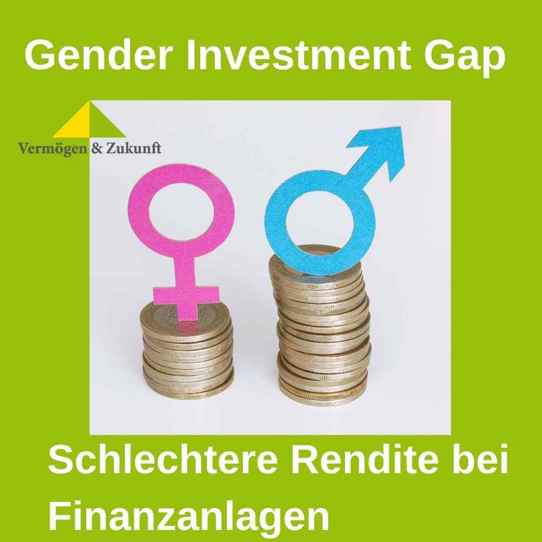 Finanzplanung fuer Frauen - die Gender Investment Gap