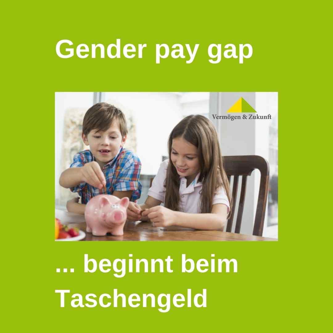 Gender Pay Gap Taschengeld