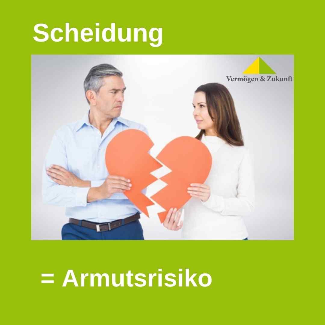Finanzplanung fuer Frauen - Scheidungsrisiko